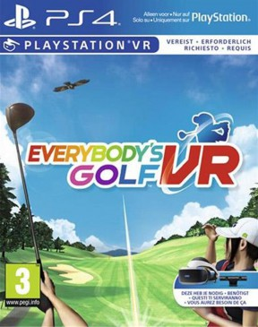 Everybody's Golf VR PS4 Cover