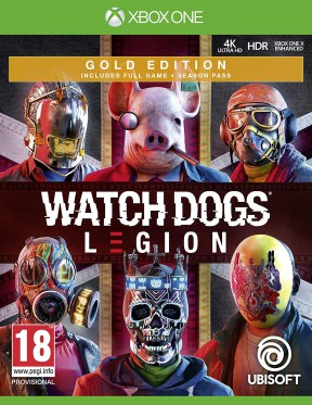 Watch Dogs Legion Xbox One Cover