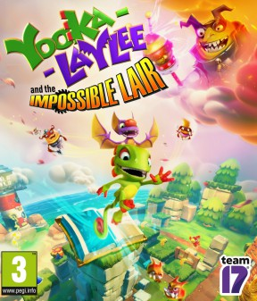 Yooka-Laylee and the Impossible Lair PC Cover