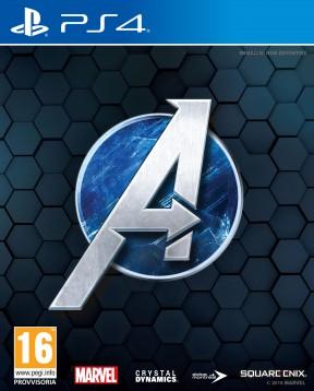 Marvel's Avengers PS4 Cover