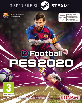 eFootball PES 2020 PC Cover