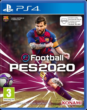 eFootball PES 2020 PS4 Cover