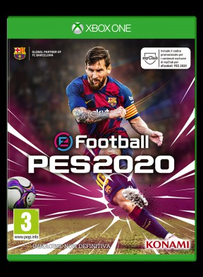 eFootball PES 2020 Xbox One Cover