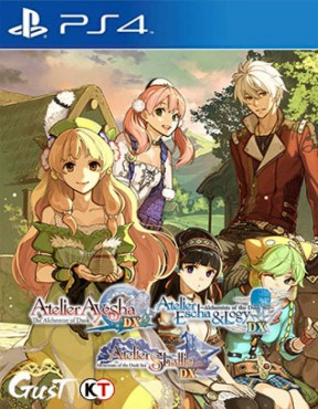 Atelier Dusk Trilogy Deluxe Pack PS4 Cover