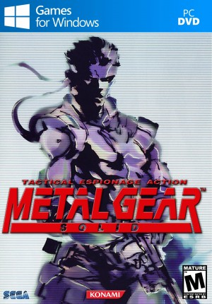 Copertina Metal Gear Solid - PC