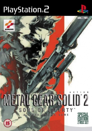 Copertina Metal Gear Solid 2: Sons of Liberty - PS2