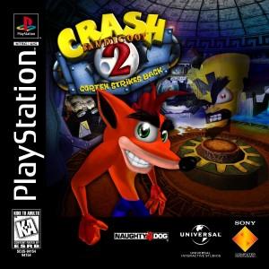 Copertina Crash Bandicoot 2 Il Ritorno di Cortex - PSOne
