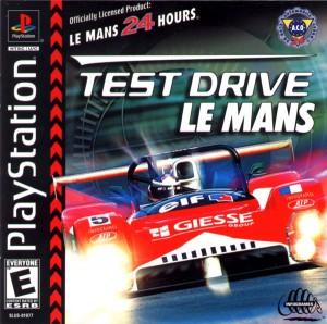 Copertina Test Drive Le Mans - PSOne