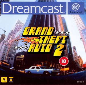 Copertina Grand Theft Auto 2 - Dreamcast