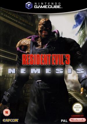 Copertina Resident Evil 3: Nemesis - GameCube
