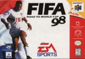 Copertina Fifa 98 Road To World Cup - N64