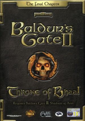Copertina Baldur's Gate II: Throne of Bhaal - PC