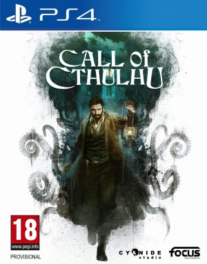 Copertina Call of Cthulhu - PS4
