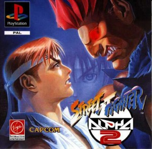 Copertina Street Fighter Alpha 2 - PSOne