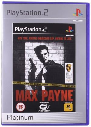 Copertina Max Payne - PS2