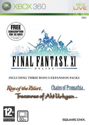 Copertina Final Fantasy XI - Xbox 360