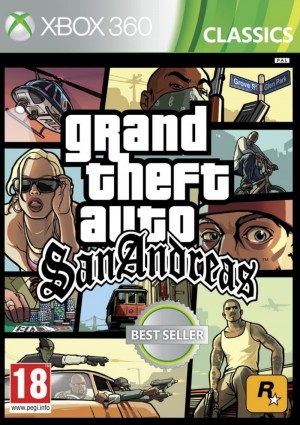 Copertina Grand Theft Auto: San Andreas - Xbox 360