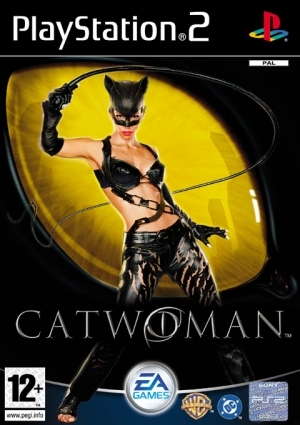 Copertina Catwoman - PS2