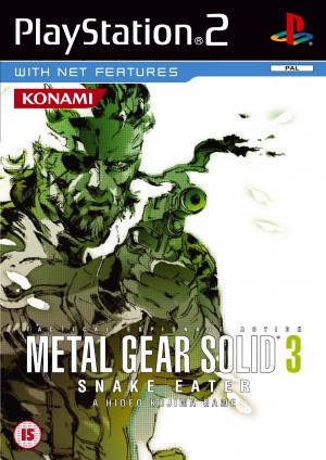 Copertina Metal Gear Solid 3: Snake Eater - PS2