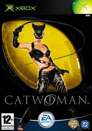 Copertina Catwoman - Xbox
