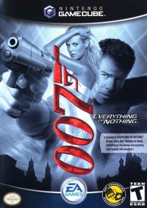 Copertina 007: Everything or Nothing - GameCube