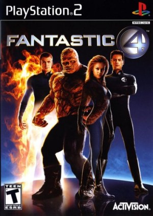 Copertina I Fantastici 4 - PS2