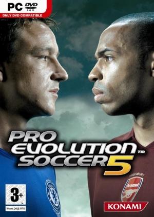 Copertina Pro Evolution Soccer 5 - PC