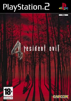 Copertina Resident Evil 4 - PS2
