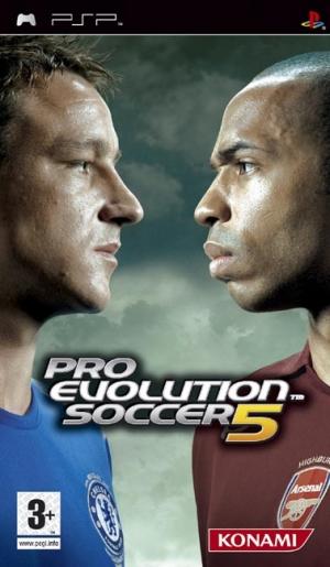 Copertina Pro Evolution Soccer 5 - PSP