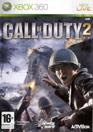 Copertina Call Of Duty 2 - Xbox 360