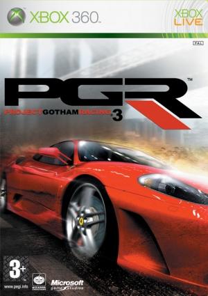 Copertina Project Gotham Racing 3 - Xbox 360
