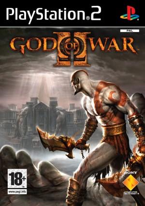 Copertina God of War 2 - PS2