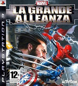 Copertina Marvel: La Grande Alleanza - PS3