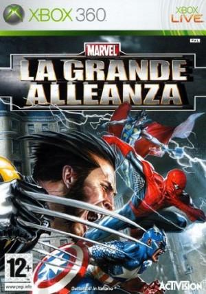 Copertina Marvel: La Grande Alleanza - Xbox 360