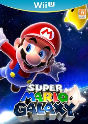 Copertina Super Mario Galaxy - Wii U