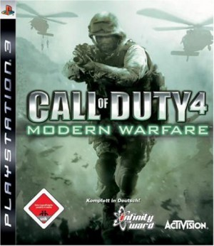 Copertina Call of Duty 4: Modern Warfare - PS3