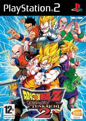 Copertina Dragon Ball Z: Budokai Tenkaichi 2 - PS2