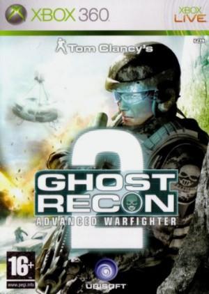 Copertina Ghost Recon Advanced Warfighter 2 - Xbox 360