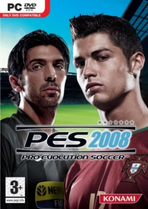 Copertina PES 2008 - PC