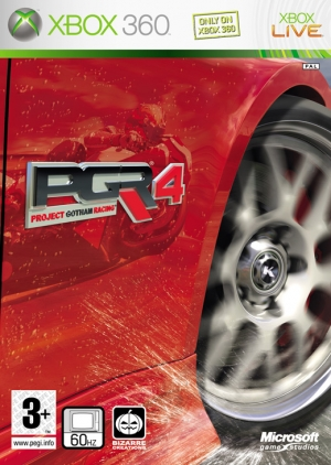 Copertina Project Gotham Racing 4 - Xbox 360