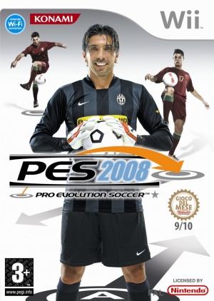 Copertina PES 2008 - Wii