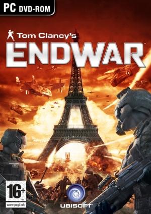 Copertina Tom Clancy's EndWar - PC