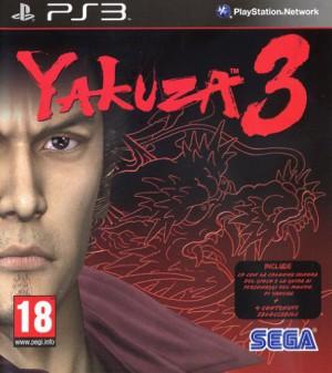 Copertina Yakuza 3 - PS3