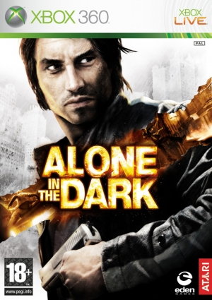 Copertina Alone in the dark - Xbox 360