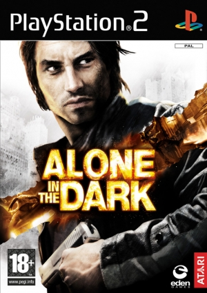 Copertina Alone in the dark - PS2