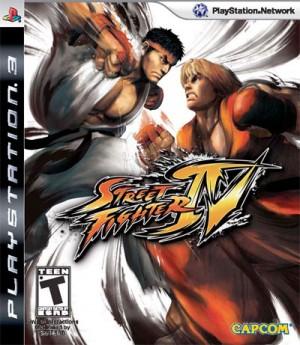 Copertina Street Fighter IV - PS3