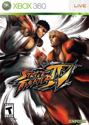 Copertina Street Fighter IV - Xbox 360