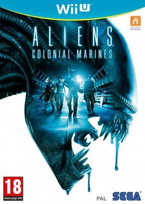 Copertina Aliens Colonial Marines - Wii U