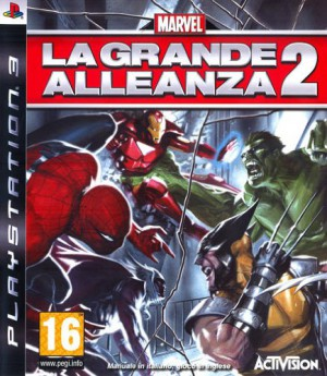 Copertina Marvel: La grande Alleanza 2 - PS3