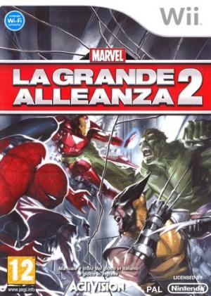 Copertina Marvel: La grande Alleanza 2 - Wii